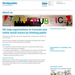 about us « thinkpublic