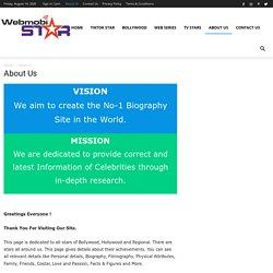About Us - WebMobistar