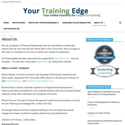 Your Training Edge ®