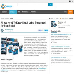 All You Need To Know About Using Therapearl for Pain Relief
