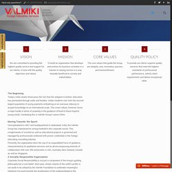 About Valmiki Group