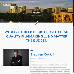 About Us - Washington DC Video Production