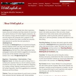 About WebEnglish.se