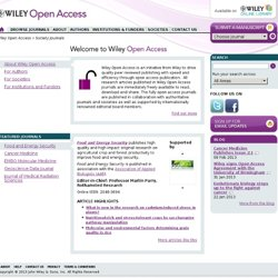 Wiley Open Access