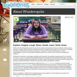 About Wonderopolis