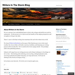 About Writers In the Storm