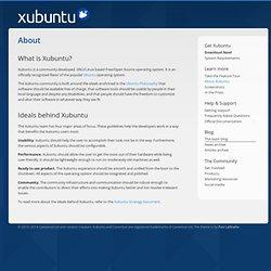 About « Xubuntu