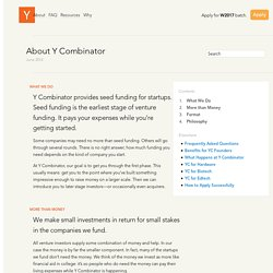 About Y Combinator