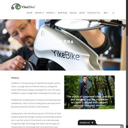 About YikeBike, our Team and our Aim