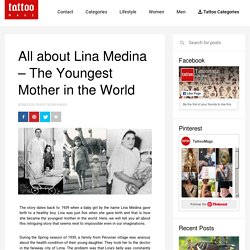 All About 5-Year-Old Lina - the Youngest Mother in the World