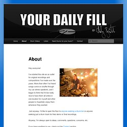 About | Your Daily Fill