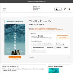 The Sky Above Us by Natalie Lund: 9780525518037