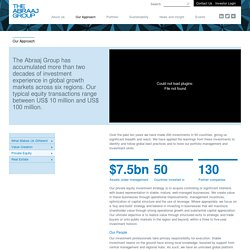 The Abraaj Group: Private Equity
