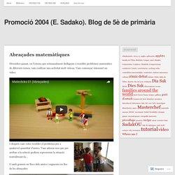 Promoció 2004 (E. Sadako). Blog de 5è de primària