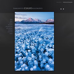 CA7590 : Abraham Lake, Elliott Peak, Alberta, Canada : Emmanuel Coupe Photography