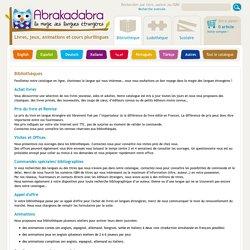 Abrakadabra - livres et jeux éducatifs en langues étrangères