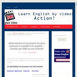 Abréviations et acronyms les plus connues à connaître en anglais - Chatter par SMS ou sur Internet