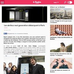 Les abribus next generation débarquent à Paris