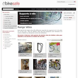 Supports vélos
