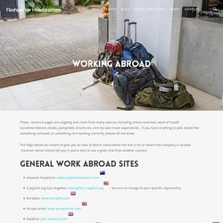 Work Abroad | Flashpacker HQ
