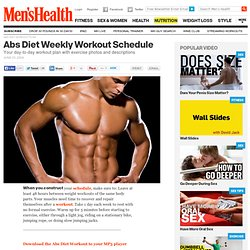 Abs Diet Workout Plan | Mens Health