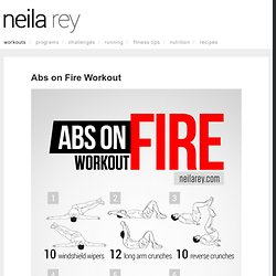 Abs on Fire Workout