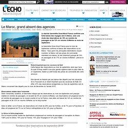 Le Maroc, grand absent des agences - L'Echo Touristique
