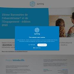 12ème Baromètre de l'Absentéisme et de l'Engagement - édition 2020 - Ayming France
