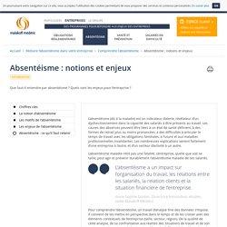 Notions et enjeux de l'absentéisme en entreprise - Malakoff Médéric