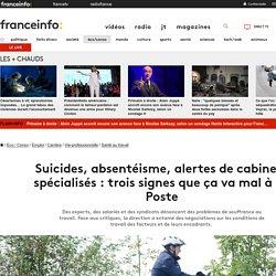 Suicides, absentéisme, alertes de cabinets spécialisés: trois signes que ça va mal à La Poste