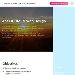 AbsfitlifeTV Web Design - Fitness Web Design