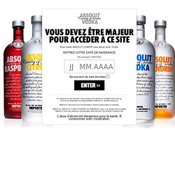 The official ABSOLUT website