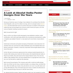 A Look at Absolut Vodka Poster Designs Over the Years