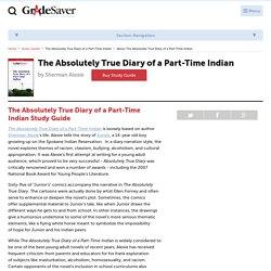 The Absolutely True Diary of a Part-Time Indian Study Guide