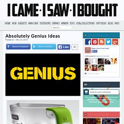Absolutely Genius Ideas - StumbleUpon