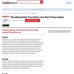 The Absolutely True Diary of a Part-Time Indian Characters