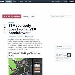 31 Absolutely Spectacular VFX Breakdowns