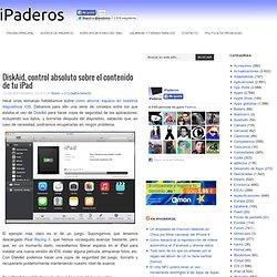 DiskAid, control absoluto sobre el contenido de tu iPad en iPaderos