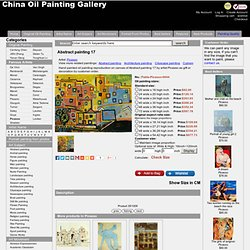 Abstract painting 17 - Pablo-Picasso-0044 - $82.00,China oil painting gallery