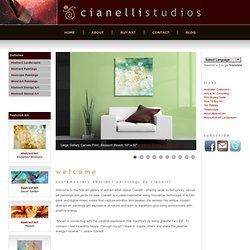 Abstract Art Paintings: Cianelli Studios | Large Contemporary Abstract Canvas Art Prints, Abstract Landscape Paintings, & Abstract Paintings For Sale.