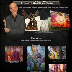 Past Work and Abstract Paintings of Famous Artist