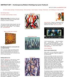 Abstract Art: Modern Abstract Paintings and Abstract Prints on Canvas for Sale