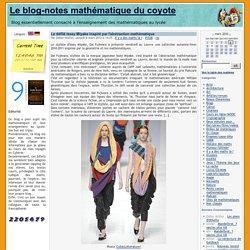 Le défilé Issey Miyake inspiré par l'abstraction mathématique