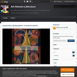Auguste Herbin -L'alphabet plastique : une abstraction spirituelle. - Art-Histoire-Littérature