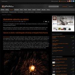 Abstraktné výbuchy na oblohe - Inšpirácie