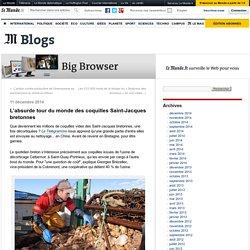 L'absurde tour du monde des coquilles Saint-Jacques bretonnes