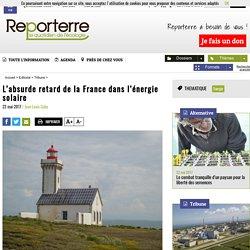 L'absurde retard de la France dans l'énergie solaire
