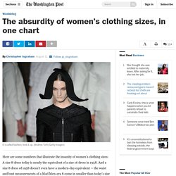 The absurdity of women's clothing sizes, in one chart