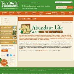 Abundant Life Seed Company