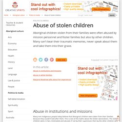Abuse of stolen children